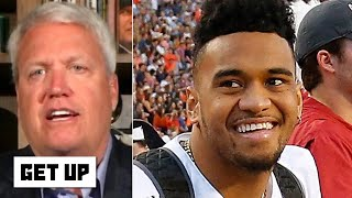 Rex Ryan compares Tua Tagovailoa to Drew Brees | Get Up