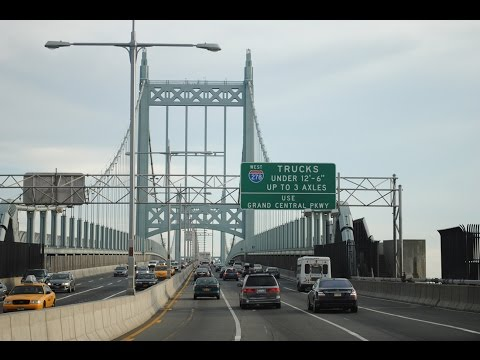 Triboro Bridge From Queens To FDR Drive And 116th Street