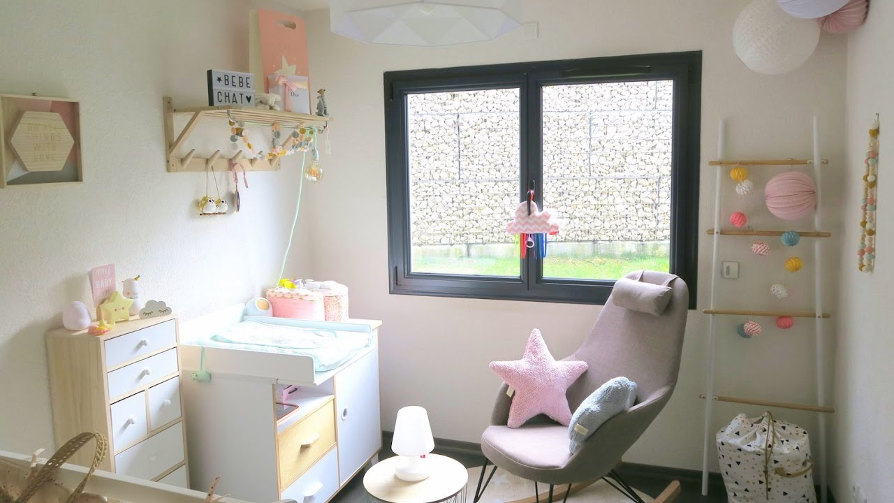 Baby room tour la chambre du b b youtube - But chambre bebe ...