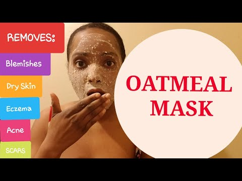 diy-|-oatmeal-face-mask-|-acne-|-dry-skin-|-eczema