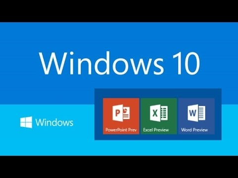 HOW TO INSTALL MS OFFICE IN WINDOWS 10