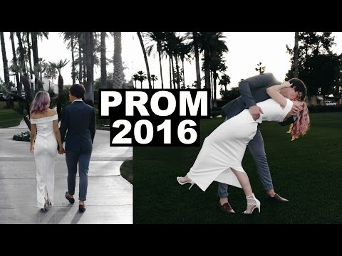 MARRIED COUPLE GOES TO PROM | Prom Vlog...