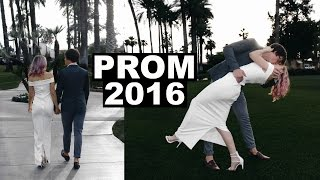 MARRIED COUPLE GOES TO PROM | Prom Vlog 2016