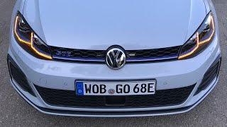 Тест гибридного VW GOLF GTE   204 силы и 350 Нм   Майорка, день 2, на пути к обновленному GOLF R!)