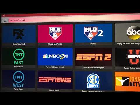 Sports For Free No Kodi Needed HD Streams