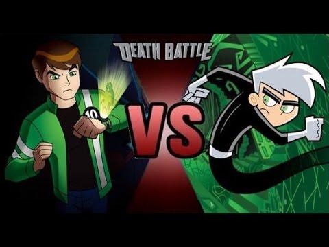 DEATH BATTLE PREDICTION DANNY PHANTOM VS BEN 10