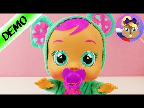 Кукла плакса по имени Лала CryBabies Imc Toys распаковка и демонстрация