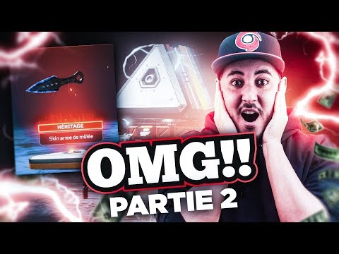 J'AI LE PACK HERITAGE SUR APEX LEGENDS !!!! (Case Opening -2/2)