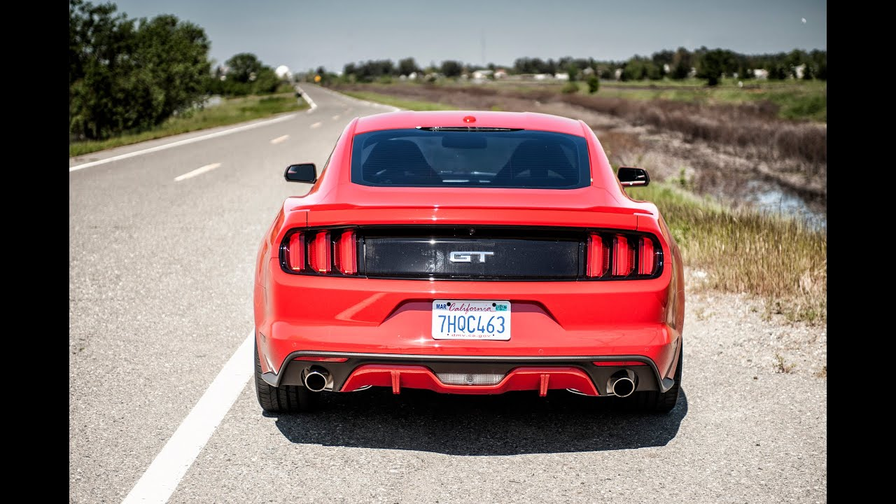 Loudest Ford Mustang Gt Exhaust Sounds Youtube