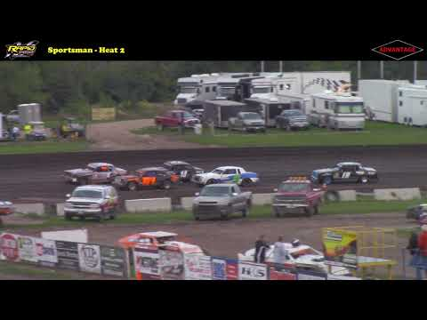 Sportsman Championship Night -- 8/25/17 -- Rapid Speedway