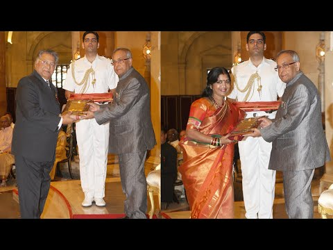 PRESIDENT PRESENTS THE SANGEET NATAK FELLOWSHIP AND AKADEMI AWARDS FOR 2011 - Part2
