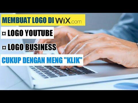 MEMBUAT LOGO SECARA ONLINE DI WIX.COM.