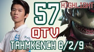 BM.QTV - TAHMKENCH vs NAULITIUS - Rank Kim Cương - Highlight