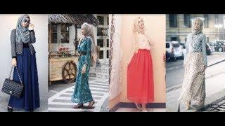 Indonesian Beautiful Young Girls Hijab & Dress Styling 2018 | Perfect Beauty Light