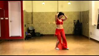 vuclip Belly dancing on indian love song
