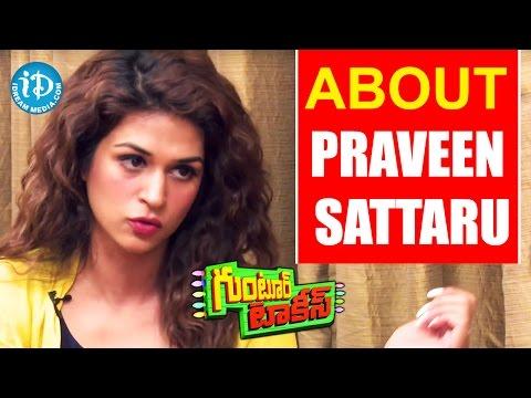 I Wanted To Work With Praveen Sattaru - Shraddha Das    Guntur Talkies    Talking Movies With iDream