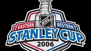 NHL 2K6 - PS2 2005 (2006 Stanley Cup CAR vs EDM)