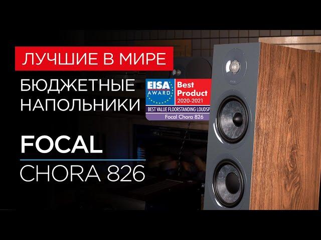 Лучшие бюджетные напольные колонки года: Focal Chora 826
