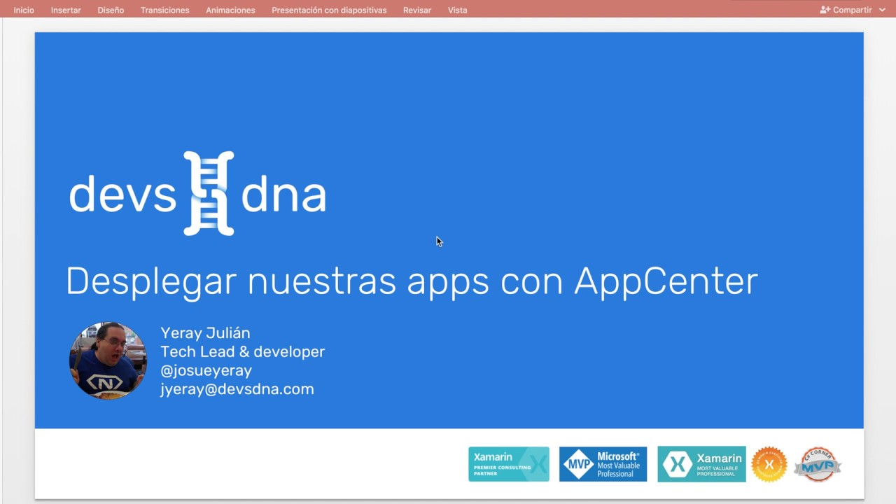 Distribuir apps con Microsoft AppCenter