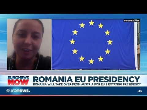 Romania to take over from Austria for EU's rotating presidency | #EuronewsNow