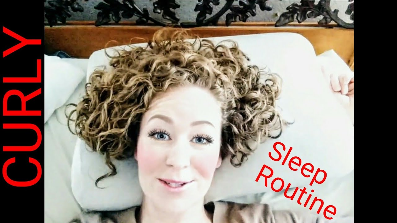My Short Curly Hair Sleep Routine Ways To Wake Up With Perfect Curls
