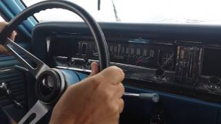 120 MPH run 1966 Buick Skylark GS