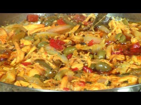 Ropa Vieja De Pollo Cuban Chicken Ropa Vieja Youtube