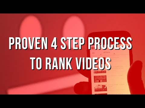 Video Marketing Strategy: Proven 4 Step Process to Rank Videos