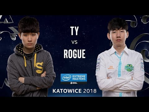 Starcraft II - TY [T] vs. Rogue [Z] - Quarter Final - IEM Katowice 2018