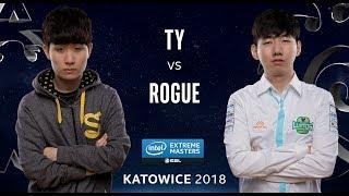 Starcraft II - TY [T] vs. Rogue [Z] - Quarter Final - IEM Katowice 2018