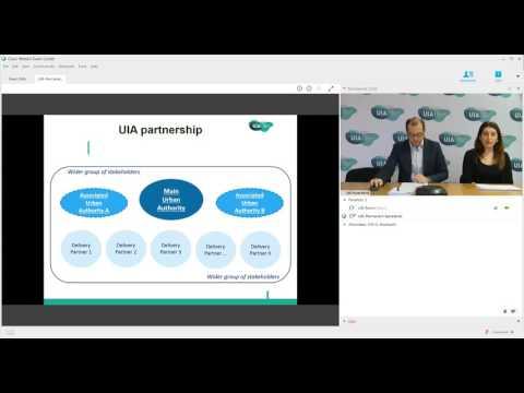 UIA webinar on partnership
