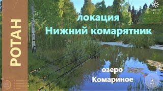 Русская рыбалка 4 озеро Комариное Ротан в дальних краях