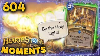 Level Up! New Cards In Hearthstone!! | Hearthstone Daily Moments Ep. 604