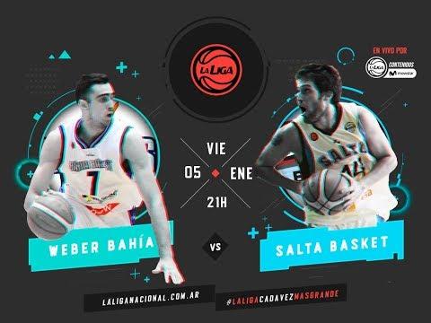 Liga Nacional: Weber Bahía vs. Salta Basket | #LaLigaEnTyCSports
