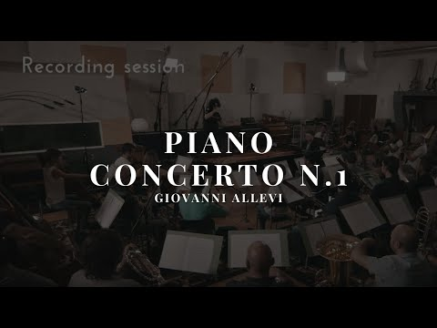 "Giovanni Allevi - ""Equilibrium"" - #makingof - Recording session"