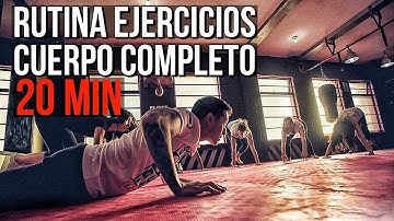 Rutina de Ejercicios Cuerpo Completo (Sin Equipo)  | Full Body Workout