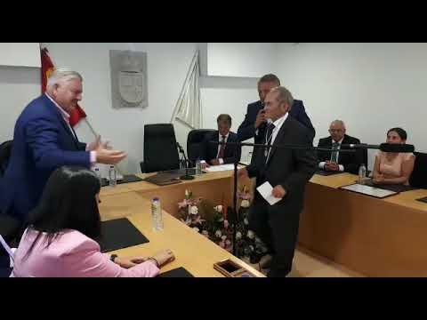 Horacio García es nombrado hijo predilecto de Palas de Rei