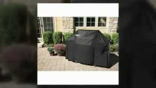 Weber Gas Grill Cover Genesis 7107-7106-7573-7569-7552 With Storage Bag