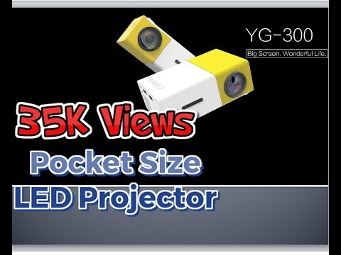 Best Mini Projector || How to setup LEDProjector || Unboxing LED Projector || YG-300