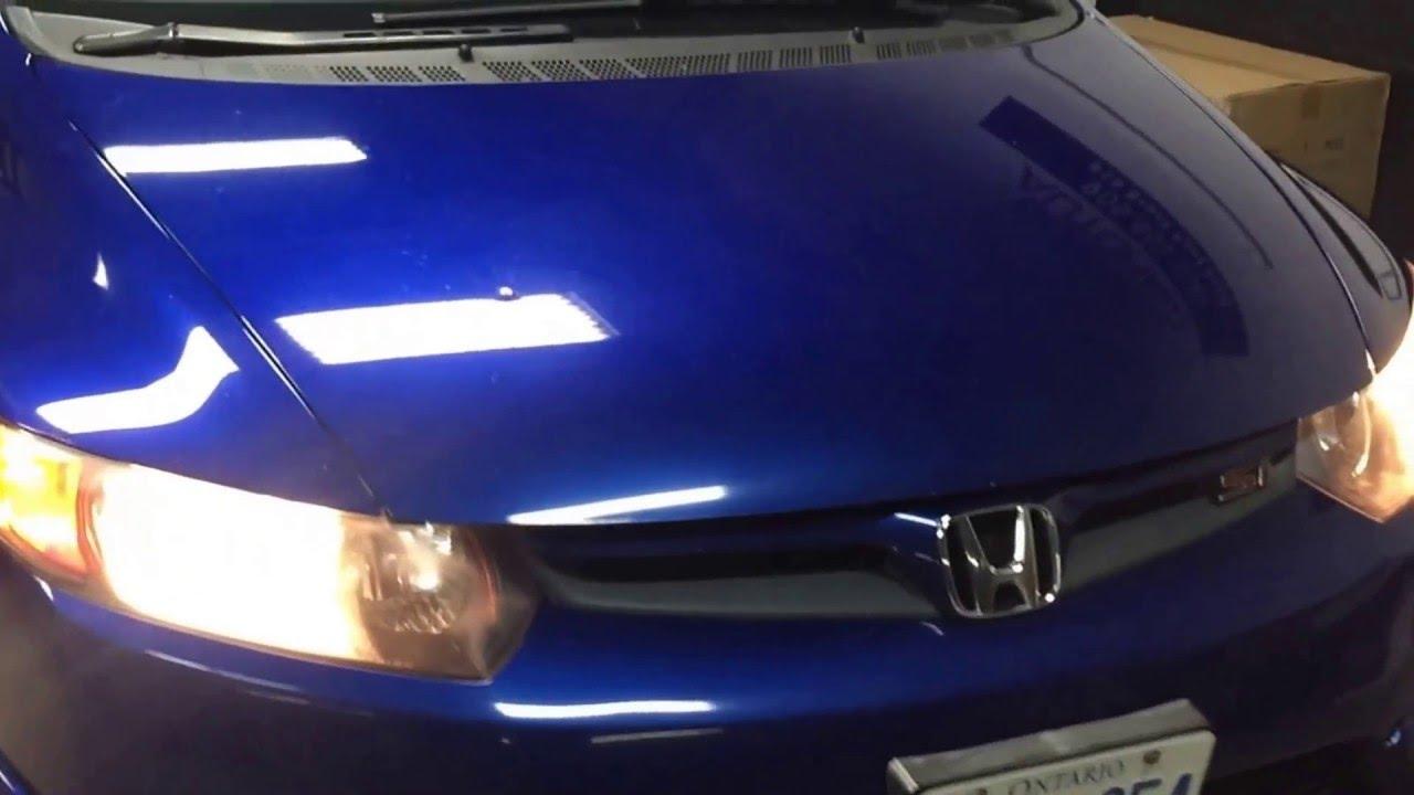 2006 2011 Honda Civic Si Led Headlight Upgrade Youtube Wiring Diagram Headlights