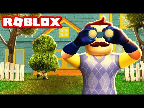BEST HELLO NEIGHBOR REMAKE IN ROBLOX