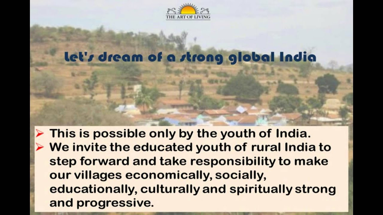 Youth Leadership Training Program from THE ART OF LIVING YouTube