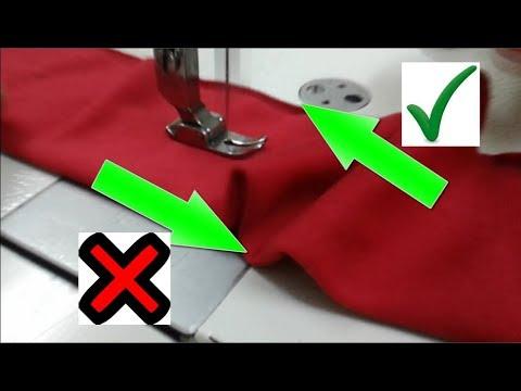 Porque la maquina de coser cose al reves | Mecanica