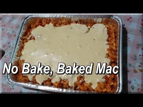 EASY NO BAKE BAKED MAC!!