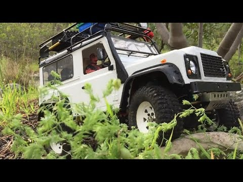Land Rover Defender D90 RC Scale Crawler Trailing Deer Park,Cape Town