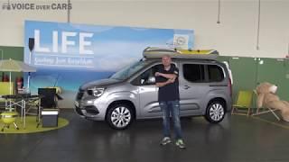 2019 Opel Combo Life Fahrbericht - Test - Review - Kritik - Voice over Cars - Auto mit Schiebetüren