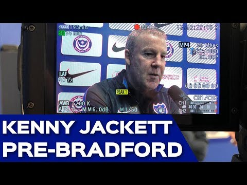 Kenny Jackett pre-Bradford City
