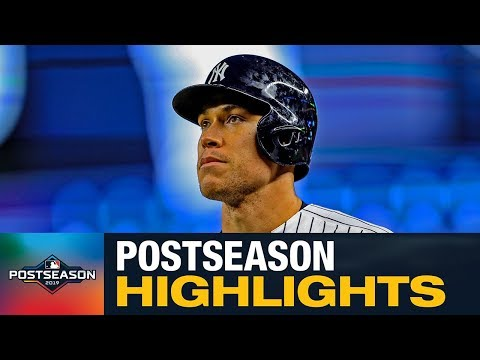 Aaron Judge 2019 MLB Postseason Highlights (Yankees Star Came Up Big For NYY)