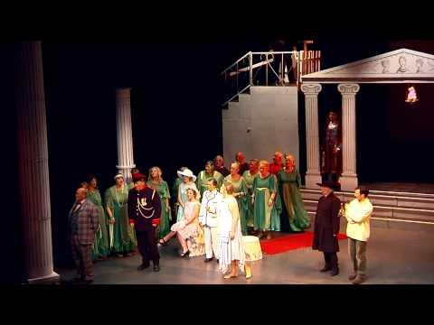 Menelaus is exiled. Act I La Belle Helene