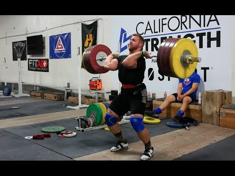 Wes Drops 173kg Snatch On His Back But Makes A Comeback
